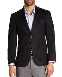 Saks Fifth Avenue - Black Cashmere Blazer for Men - Lyst