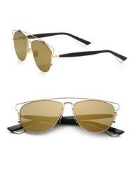 Dior - Metallic Technologic 57mm Pantos Sunglasses - Lyst