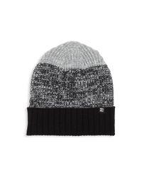 Block Headwear - Black Colorblock Beanie - Lyst