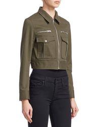 Rag & Bone - Green Pike Military Jacket - Lyst