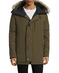 Canada Goose - Green Chateau Military Jacket for Men - Lyst