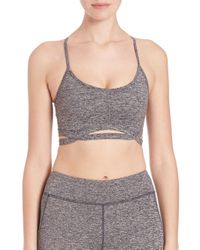 Free People - Gray Movement Infinity Sports Bra - Lyst