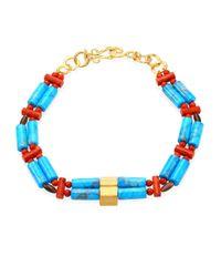 John Hardy - Blue Bonsai Semi-precious Multi-stone Necklace - Lyst