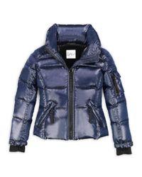 Sam. - Blue Girl's Freestyle Puffer Jacket - Lyst