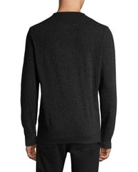 Barbour - Multicolor Buffalo Check Crewneck Sweater for Men - Lyst