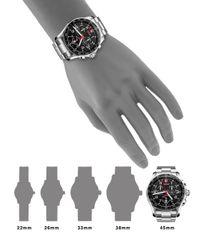 Victorinox - Metallic Chrono Classic Xls Stainless Steel Chronograph Bracelet Watch for Men - Lyst