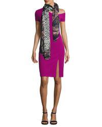 Yigal Azrouël - Pink One Shoulder Dress - Lyst