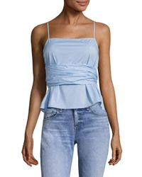 Elizabeth and James - Blue Montgomery Top - Lyst