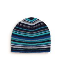 Paul Smith - Blue Striped Beanie for Men - Lyst