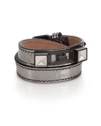 Proenza Schouler - Ps11 Metallic Leather Bracelet - Lyst