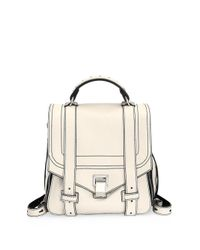 Proenza Schouler - Multicolor Ps1+ Zip Leather Backpack - Lyst
