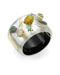 Alexis Bittar - Multicolor Lucite Crystal Fruit Hinge Bracelet - Lyst