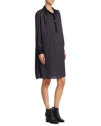 HATCH - Black Collared Shirt Dress - Lyst