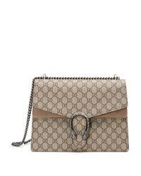 Gucci - Natural Dionysus GG Supreme Canvas Shoulder Bag - Lyst