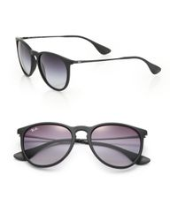 Ray-Ban - Black Vintage-inspired Round Sunglasses - Lyst