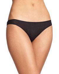 Hanro - Black Ultralight Bikini - Lyst