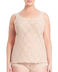 Hanky Panky - Pink Plus Size Signature Lace Camisole - Lyst