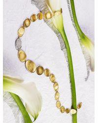 Marco Bicego - Metallic Lunaria Diamond & 18k Yellow Gold Single-station Collar Necklace - Lyst