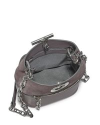 Alexander Wang - Gray Riot Leather & Suede Bucket Bag - Lyst