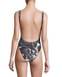 Norma Kamali - Black Marissa One-piece Jersey Swimsuit - Lyst