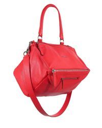 Givenchy - Red Pandora Medium Leather Shoulder Bag - Lyst