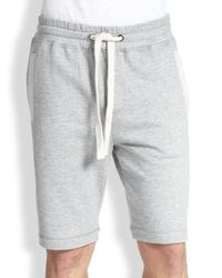 2xist Gray 2(x)ist Men's Terry Shorts - Black Heather for men