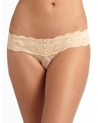 Cosabella - Pink Never Say Never Cutie Low-rise Thong - Lyst