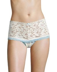 Hanky Panky | Multicolor Colorplay Retro Lace Thong | Lyst