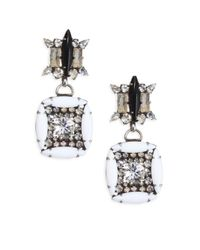 DANNIJO - Metallic Laight Earrings - Lyst