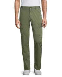 Strellson - Green Kit Medium-fit Cargo Pants for Men - Lyst