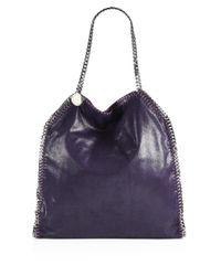 Stella McCartney - Purple Falabella Shoulder Bag - Lyst