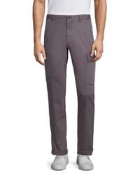Strellson - Gray Kit Medium-fit Cargo Pants for Men - Lyst