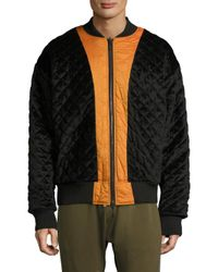 Mostly Heard Rarely Seen - Orange Long-sleeve Firea Bomber for Men - Lyst