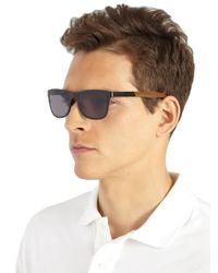 Shwood | Black Canby Walnut & Titanium Sunglasses for Men | Lyst