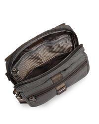 Tumi - Black Alpha Bravo Annapolis Zip-flap Crossbody Bag for Men - Lyst