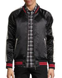 Ovadia And Sons - Black Reversible Souvenir Bomber Jacket for Men - Lyst