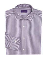 Ralph Lauren Purple Label - Purple Label Regular-fit Bond Striped Dress Shirt for Men - Lyst