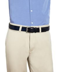 Saks Fifth Avenue - Multicolor Saks Fifth Avenue By Magnanni Wellington Leather Belt for Men - Lyst