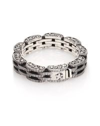 King Baby Studio - Metallic Sterling Silver Rotor Link Bracelet for Men - Lyst
