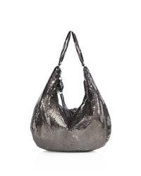 Whiting & Davis - Black Snake Head Bracelet Bag - Lyst