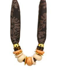 Lizzie Fortunato - Brown Nazare Necklace - Lyst