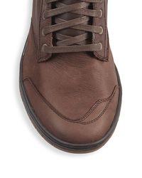 DIESEL - Brown Tatradium Leather Boots for Men - Lyst