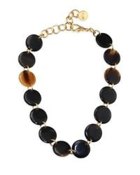 Nest - Multicolor Horn Disc Necklace - Lyst