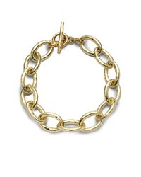 Ippolita | Metallic Glamazon 18k Yellow Gold Mini Bastille Link Bracelet | Lyst