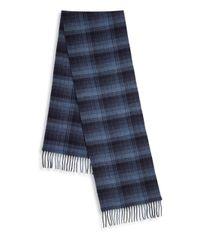 Polo Ralph Lauren - Blue Wool & Cashmere Blend Scarf for Men - Lyst