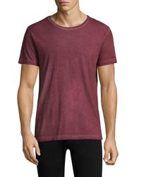 Belstaff - Red Trafford Crewneck Tee for Men - Lyst