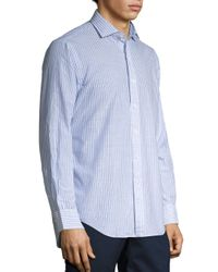 Polo Ralph Lauren - Blue Striped Estate Shirt for Men - Lyst