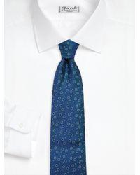 Charvet - Blue Split Peas Silk Tie for Men - Lyst