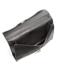 Proenza Schouler - Black Small Python Lunch Bag Clutch - Lyst