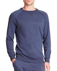 2xist | Blue Terry Pullover Sweatshirt for Men | Lyst